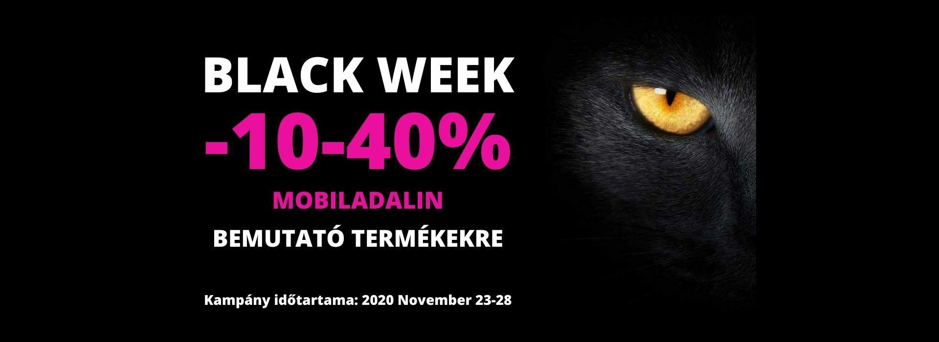 Mobiladalin Black Week