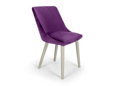 Alberta lila szék Milk pácolt lábbal