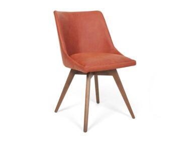 Alberta szék téglavörös színben