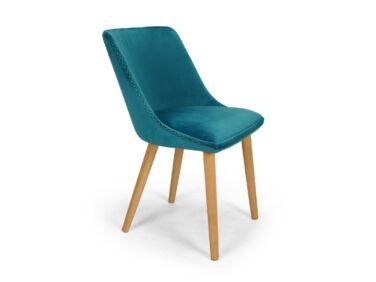 Alberta türkiz szék díszvarrással