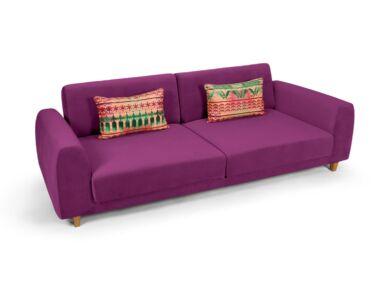 Amsterdam 2 személyes kanapé lila színben