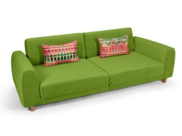 Amsterdam 2 személyes kanapé zöld színben