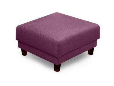 Amsterdam puff lila színben, wenge lábbal