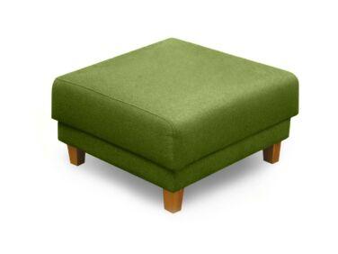 Amsterdam puff zöld színben, Desert Oil lábbal