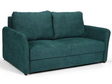 Amy kétszemélyes fix kanapé zöld