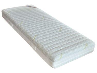 Memory Bamboo vákuumcsomagolt, memóriahabos, bambusz huzatos matrac 90x200