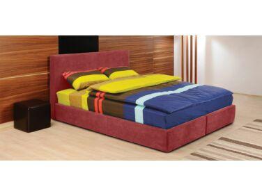 Cubo kárpitozott ágy piros 140x200