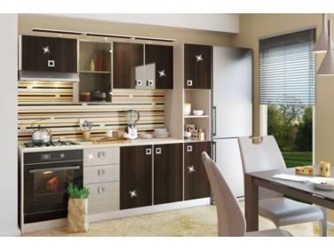 Domino 20 magasfényű konyhabútor összeállítás (220cm)