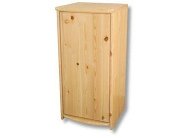 1 ajtós, 90 cm magas borovi fenyő komód LZ-20