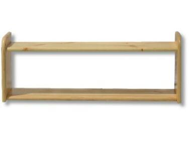 Borovi fenyő dupla kis falipolc LZ-72