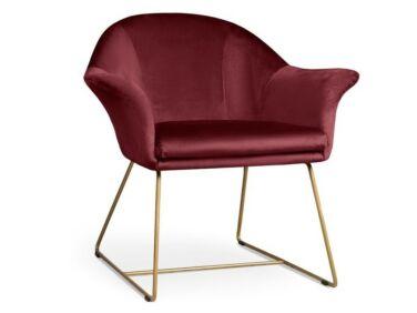 Form bordó fotel