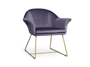 Form lila fotel
