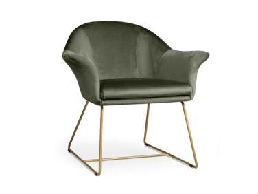 Form moha zöld fotel