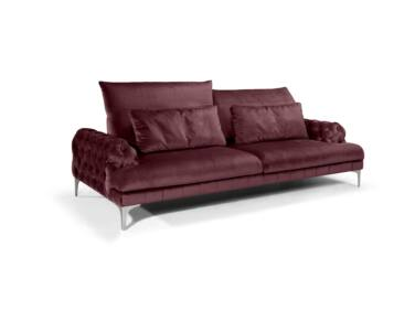 Galla chester kanapé burgundi