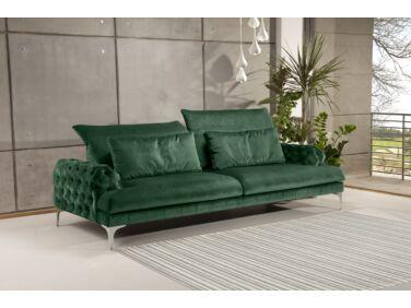 Galla chester kanapé smaragdzöld