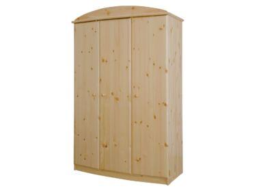 Íves, 3 ajtós fenyő szekrény HR-026