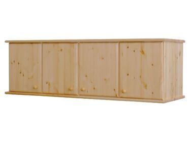4 ajtós fenyő szekrénymagasito HR-032