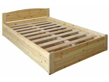 140-es felnyitható ágyneműtartós fenyő ágy HR-010