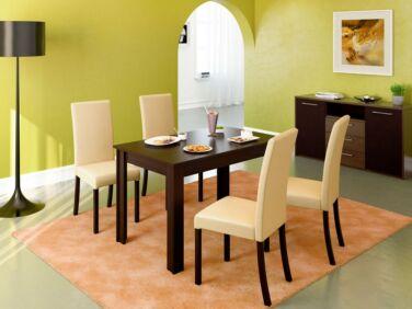 BINGO asztal + 4 krém BINGO szék összeállítás