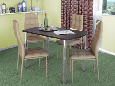 COLIBRI asztal + 4 cappuccino STAR szék összeállítás