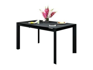 NEW YORK 10 személyes nyitható nagy asztal fekete színben