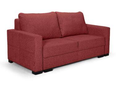 Luna kis ágyazható kanapé bordó