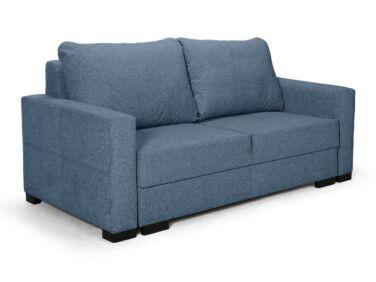 Luna kétszemélyes fix kanapé kék