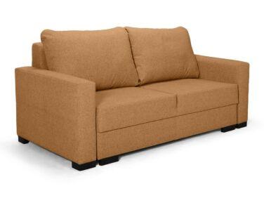 Luna kis ágyazható kanapé narancssárga