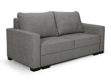Luna kétszemélyes kis kanapé sötétszürke