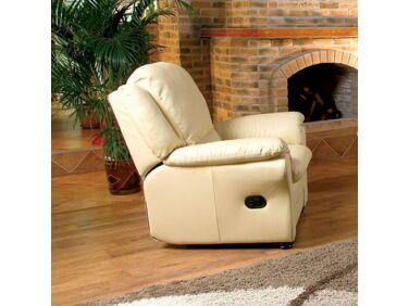 Milano relax fotel krém