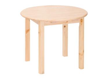 Kihúzható, kerek fenyő asztal MS-144