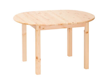 Kihúzható, ovális fenyő asztal MS-145