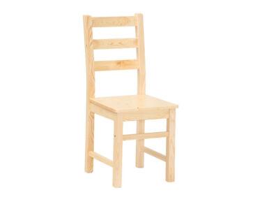 Fenyő szék lakkozás nélkül MS-151