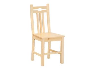 Fenyő szék lakkozás nélkül MS-153