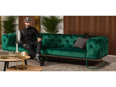 New Chester kanapé zöld