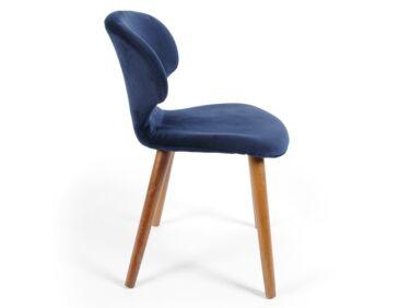 Nord szék kék, tölgy lábbal