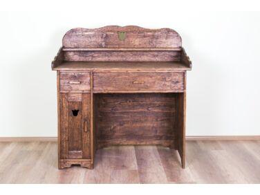 Antikolt fenyő íróasztal PF-41