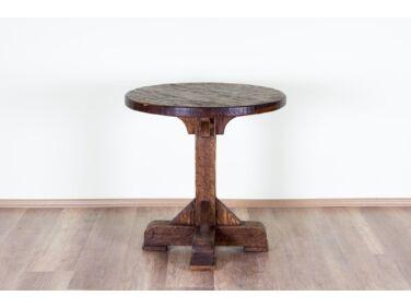 Antikolt fenyő kerek asztal PF-96