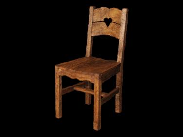 Antikolt fenyő paraszt szék PF-97