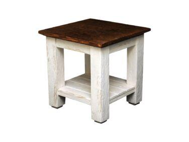 Vintage antikolt fenyő kisasztal PF-108