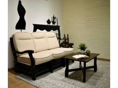 Róma dió krém 3 személyes kanapé