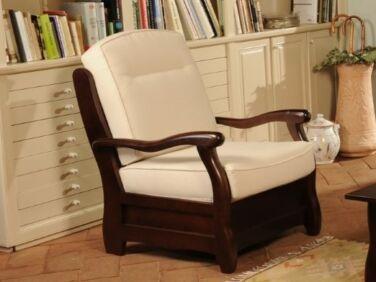 Róma dió krém fotel