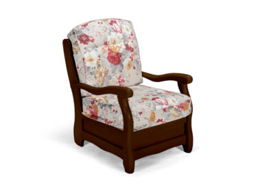 Róma dió virágos fotel
