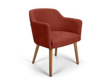 Sofia bordó kárpitos szék