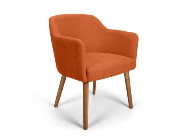 Sofia narancs kárpitos szék