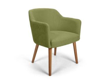 Sofia zöld kárpitos szék