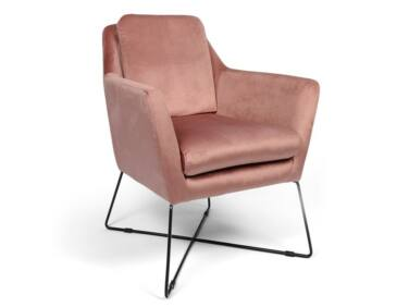 Stephan púder fotel fém lábbal