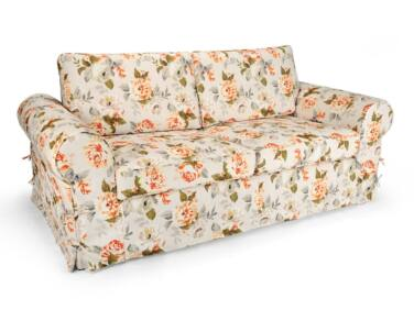 Sydney 2 személyes kanapé sárga virágos