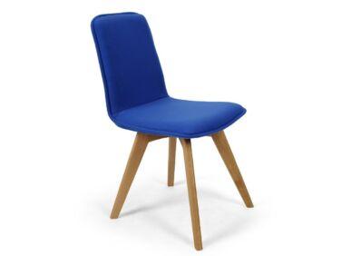 Tokyo kék szék tölgy X lábbal