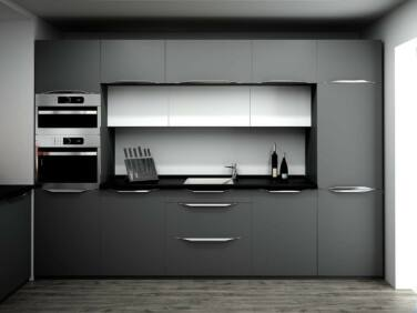 Andra szürke konyhabútor összeállítás (320 cm)